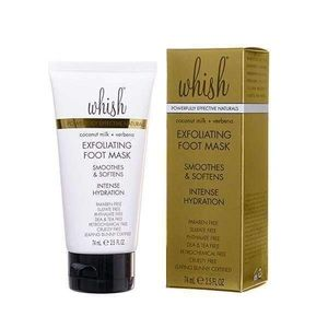 Whish Exfoliating Foot Mask Coconut NEW